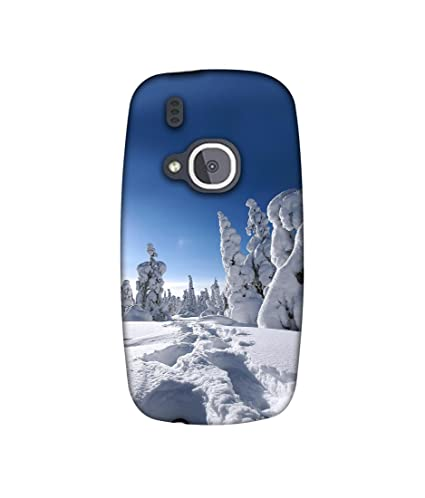 Casotec Winter in Finnland Design Printed Soft TPU Silicon Back Case Cover for Nokia 3310  2017  Mobile Phone Cases   Covers