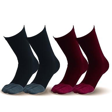 c4efa1f4221880 Amazon.co.jp: 【指先まであったか靴下】お得な2足組 温かい暖かい 遠 ...