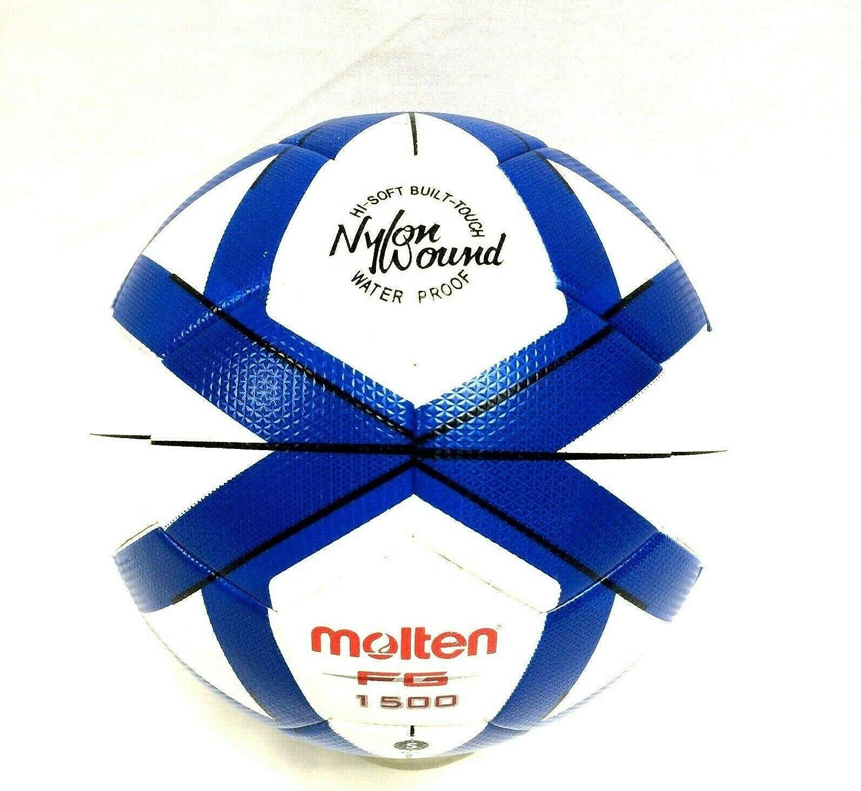 MOLTEN FG1500 - Balón de fútbol (tamaño 5, Aguja de inflado ...
