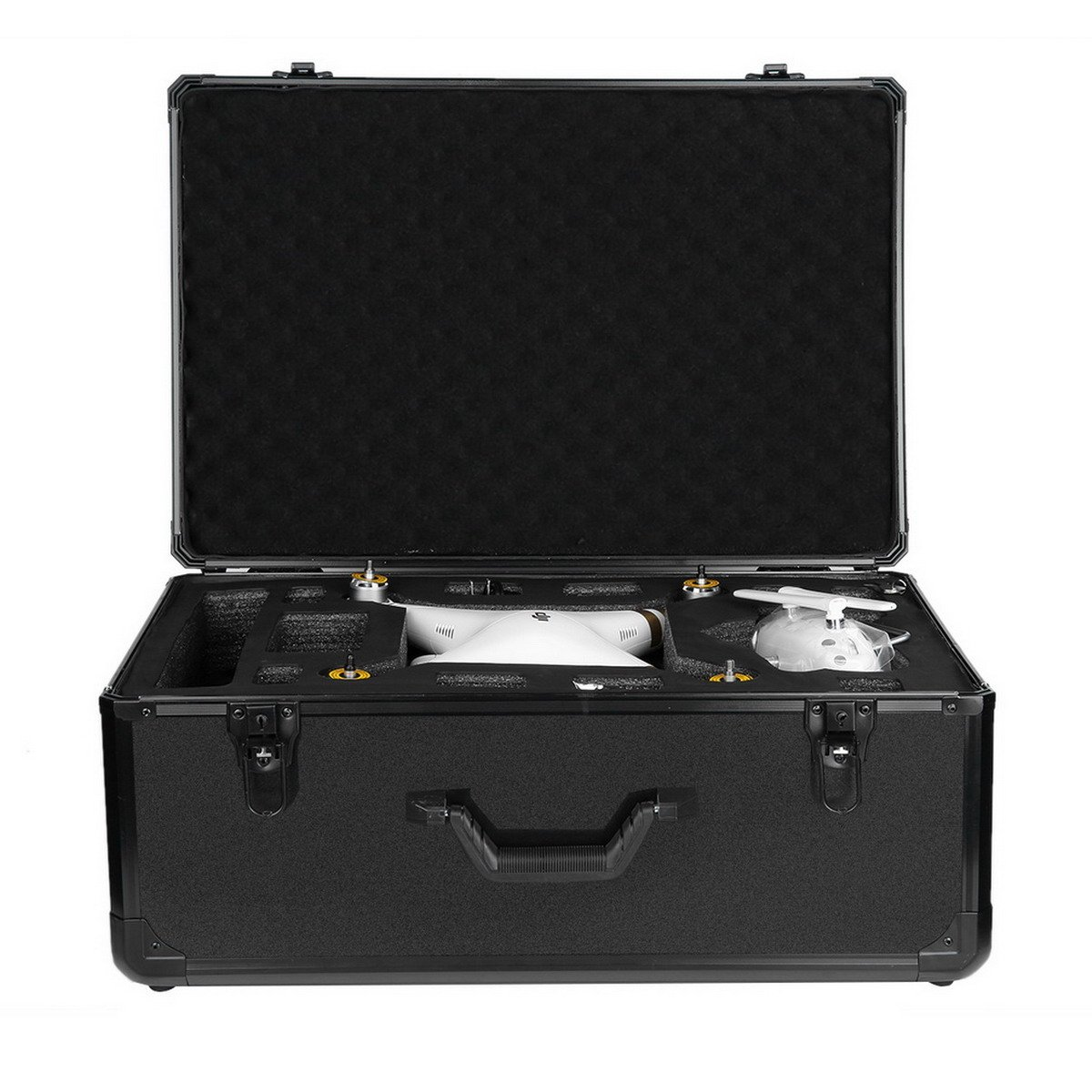 Special Aluminum Case Protective Protector Carry Out Box for Phantom 2-3 aluminum black, by LC Prime