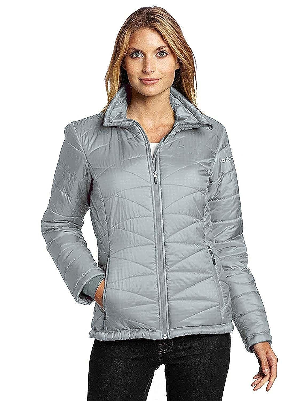 bd684b6adb7 Columbia womens plus morning light insulated omni heat jacket pink furshia  at amazon womens coats shop