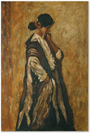 Uttermost 72 48-Inch Serenity Art, 72.0 L x 48.0 W x 1.0 D, Rustic