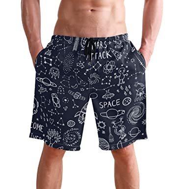 Amazon.com: Visesunny Cool Mars Attack Print Pantalones ...