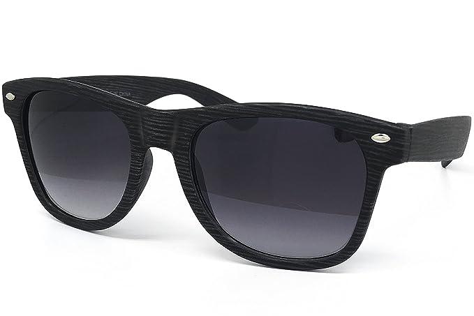 Amazon.com: O2 Eyewear ch53 sintética Madera Reflective Revo ...