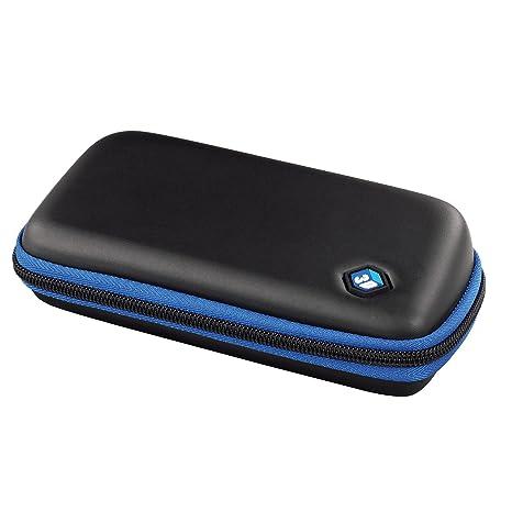 Hama Spectacle Case - Caja (Negro, Azul, EVA (Etileno Acetato de ...