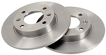 ABS 17357 Discos de Frenos, la Caja Contiene 2 Discos de Freno