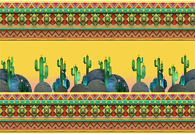 10x10ft Fresh Regular Green Cactus Pattern Illustration Vinyl Photography Background Child Adult Portrait Shoot Backdrop Indoor Decors Foliage BedHead Wallpaper Studio Props