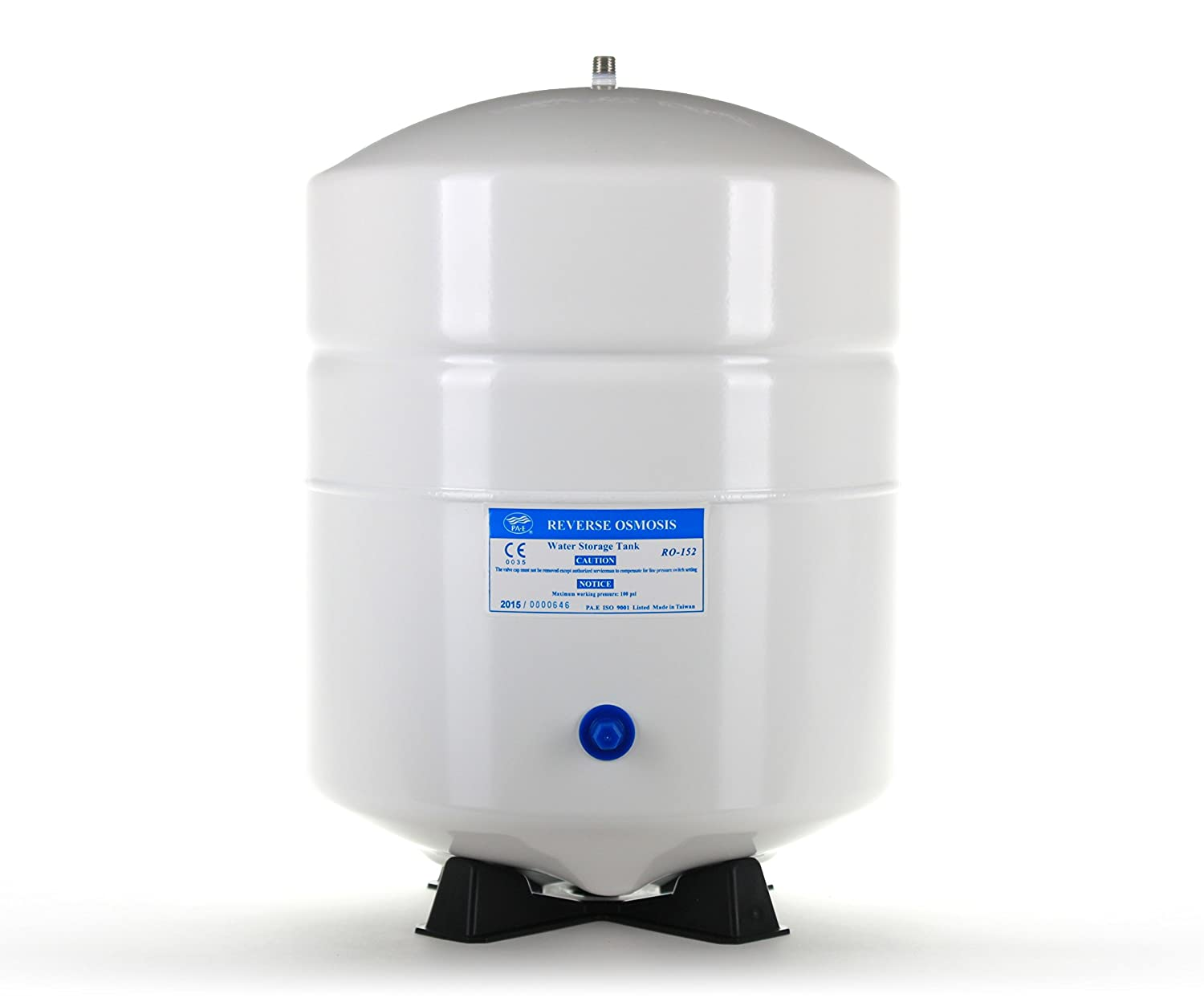 6.0 Gallon Reverse Osmosis RO Water Storage Tank by PA-E by Complete Filtration Services 5.5 Draw-down