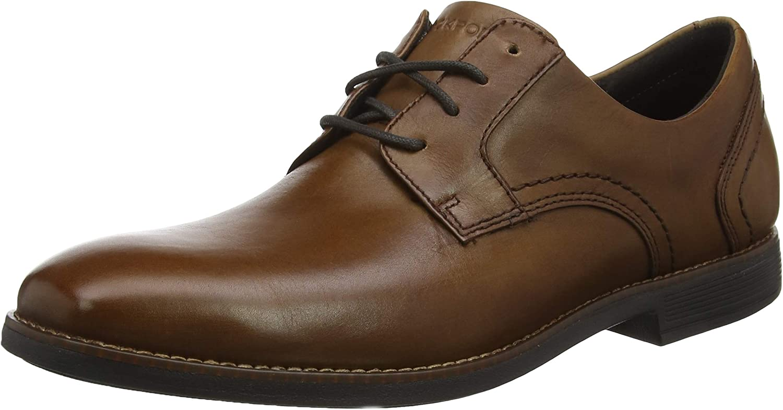 Rockport Slayter Plain Toe, Zapatos de Cordones Oxford para Hombre