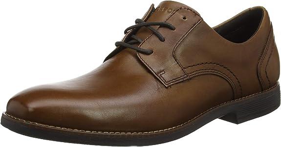 TALLA 44.5 EU. Rockport Slayter Plain Toe, Zapatos de Cordones Oxford para Hombre