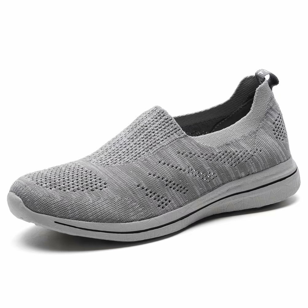 LANCROP Men's Lightweight Running Shoes - Breathable Mesh Slip On Athletic Walking Sneakers by LANCROP (Image #1)