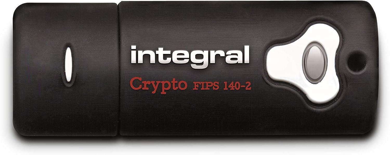 Integral 32gb Crypto Secure Password Encrypted Fips Elektronik