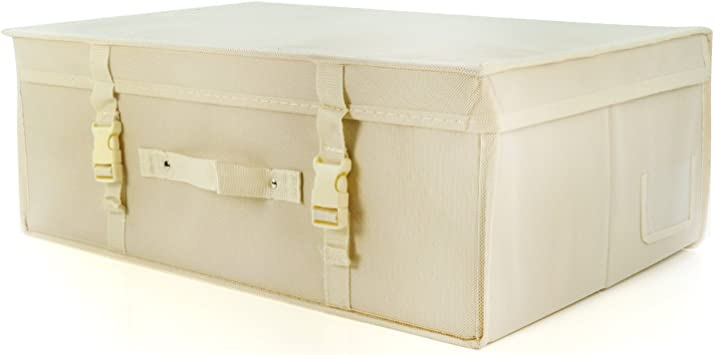 Hoesh International Simpson /& Ruxton Ivory Medium Wedding Gown Storage Travel Boxes With Free Tissue Paper