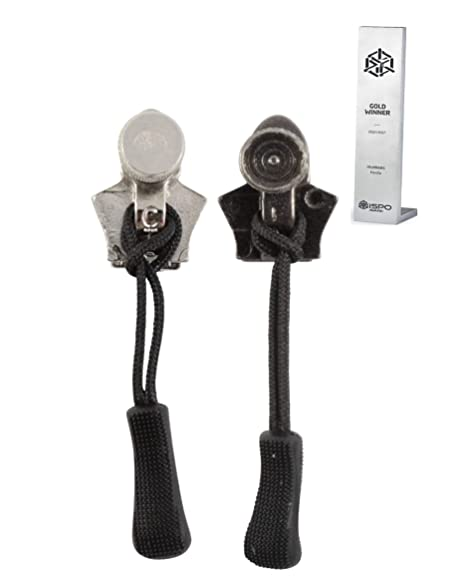 No 3 Zipper Repair Kit Zip Sliders Spirals Instant Fix Your Own DIY Black//White
