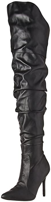 2bc3806a627 Pleaser Women s Classique-3011 Over The Knee Boot  Amazon.co.uk ...