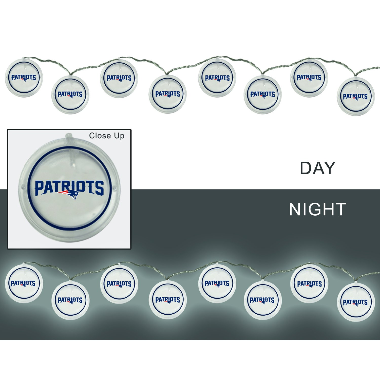 Team Sports America 2LA3818SL New England Patriots String Lights