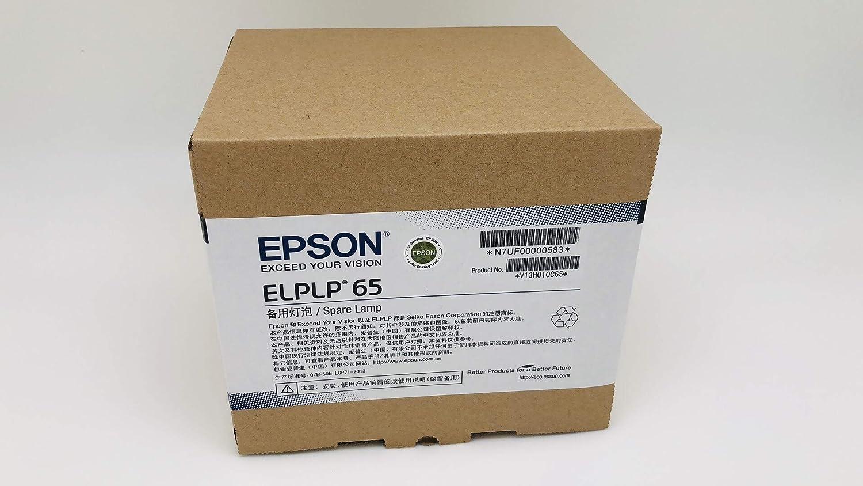 EPSON プロジェクターランプ ELPLP65 メーカー純正品   B07J4VRCG3