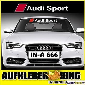 Audi Sport 95 Cm Aufkleber Autoaufkleber Tuningaufkleber Von