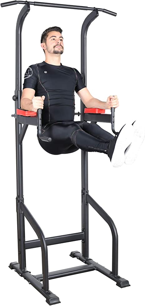Power tower ultrasport , stazione fitness multifunzione per allenarsi a casa