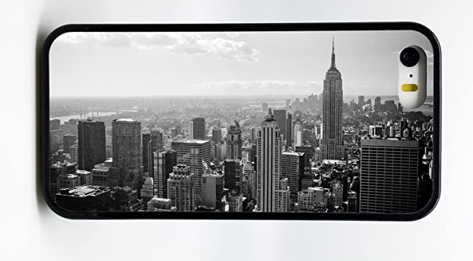 Amazon Com Black White New York City Nyc Skyline Phone