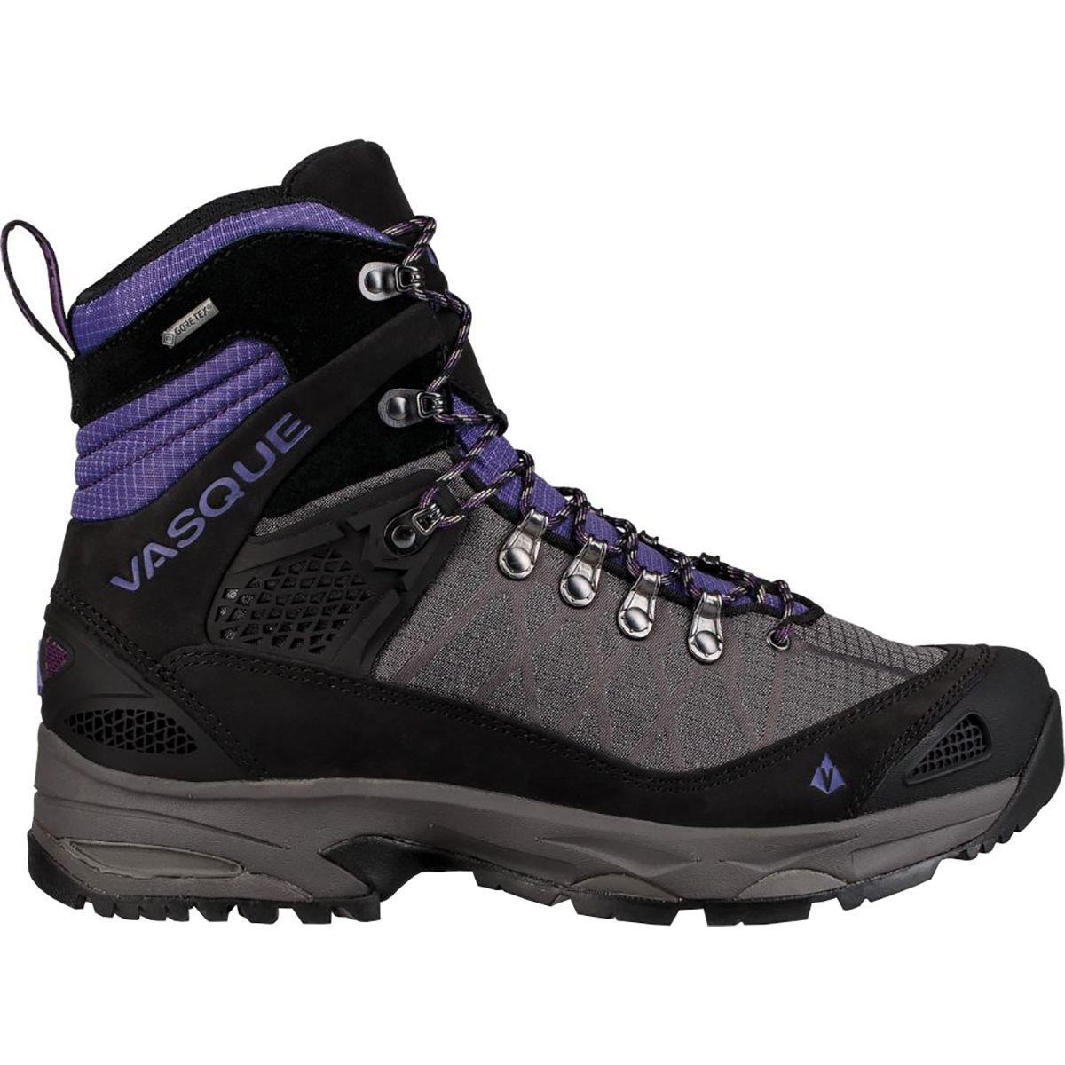 Vasque Saga GTX Backpacking Boot - Women's BlackBerry/Ultra Violet, 7.5 by Vasque