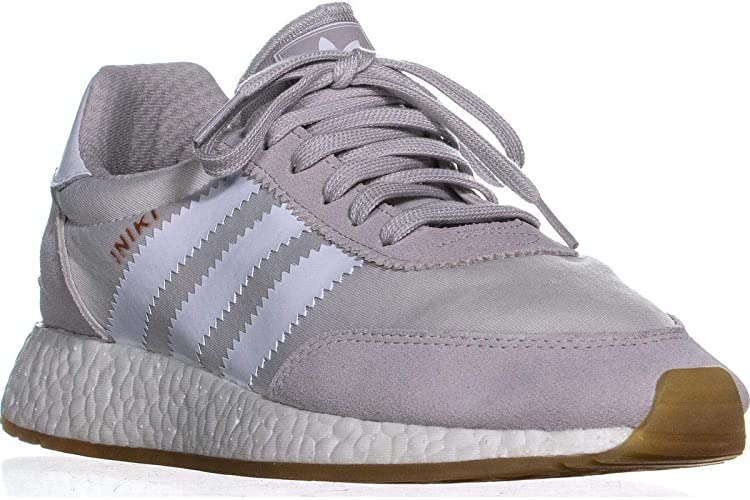 adidas Iniki Runner Womens in Grey/White/Gum