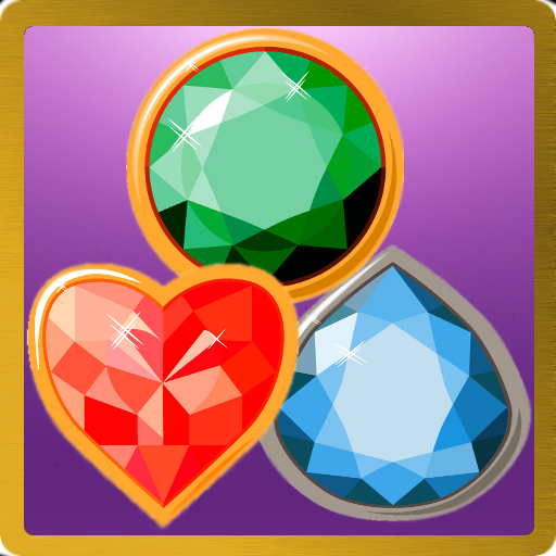 Jewels Worlds Match 3 Puzzle - Jr Jewels