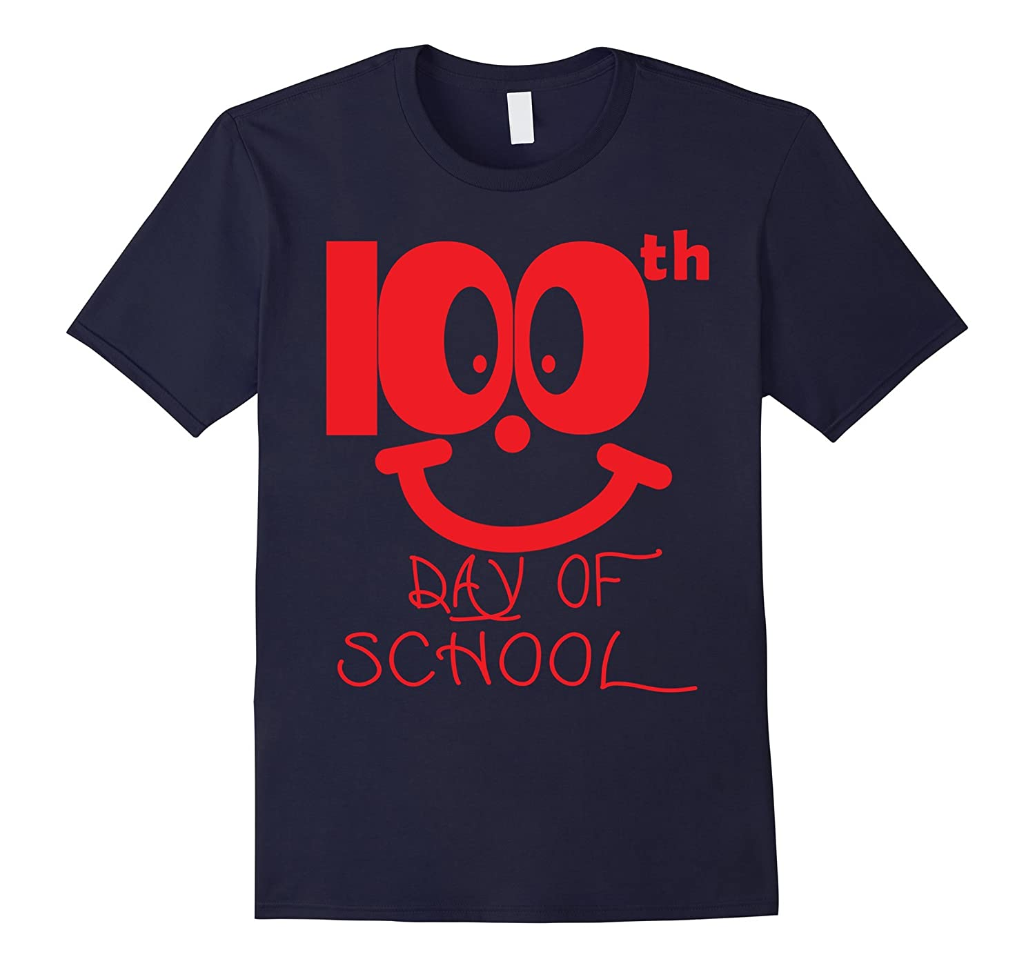 100th Day of School For Teacher Student T-Shirt-CD