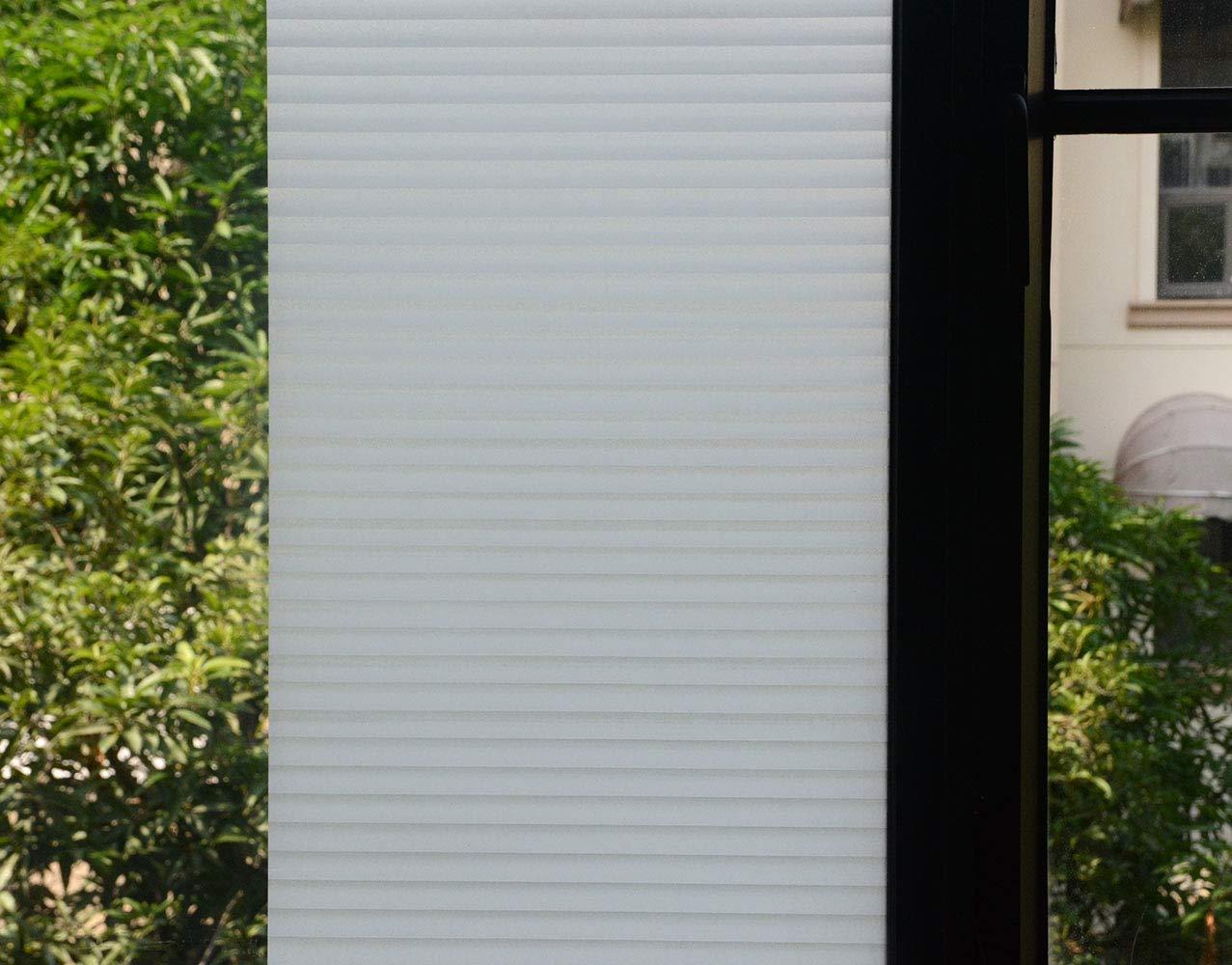Anti-UV Window Tint for Living Bath Room//Kitchen//Front Door or Office 35.4 by 78.7// 90X200CM VSUTEK VSUDO Decorative Privacy Window Film No Glue Decor Static Cling Glass Sticker 1Roll, 35.4 by 78.7// 90X200CM, Blind