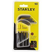 Stanley 0/69/253 Anahtar Takımı, Sarı/Siyah, 10 Parça