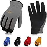 Vgo 5Pairs Multi-Functional Gardening Training Crafting Work Gloves, Value Pack(Size L,5 Color,AL8736)