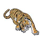 Tiger Patch for Clothes Applique Craft DIY