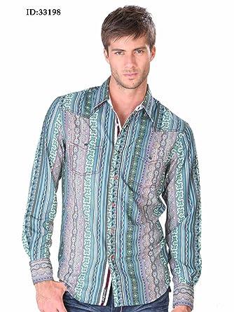 Camisa Casual Shirt L/Sleeve El Señor de los Cielos 100% Polyester ID 33198