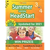 Summer Learning HeadStart, Grade 3 to 4: Fun Activities Plus Math, Reading, and Language Workbooks: Bridge to Success…