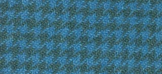 "product image for Weeks Dye Works Wool Fat Quarter Houndstooth Fabric, 16"" by 26"", Blue Topaz"