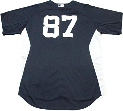 check out 27923 6b557 NY Yankees Team Issued #87 Home Batting Practice Jersey ...