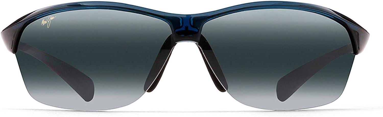 Maui Jim Sunglasses Hot Sands 426 Rimless Frame, Polarized Lenses, with Patented PolarizedPlus2 Lens Technology