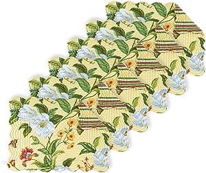C&F Home Magnolia Rectangular Cotton Quilted Placemat Set of 6 Rectangular Placemat Set of 6