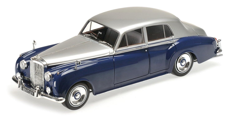 Minichamps – 100139954 – Bentley S2 – 1954 – Echelle 1/18 – Silber/Blau