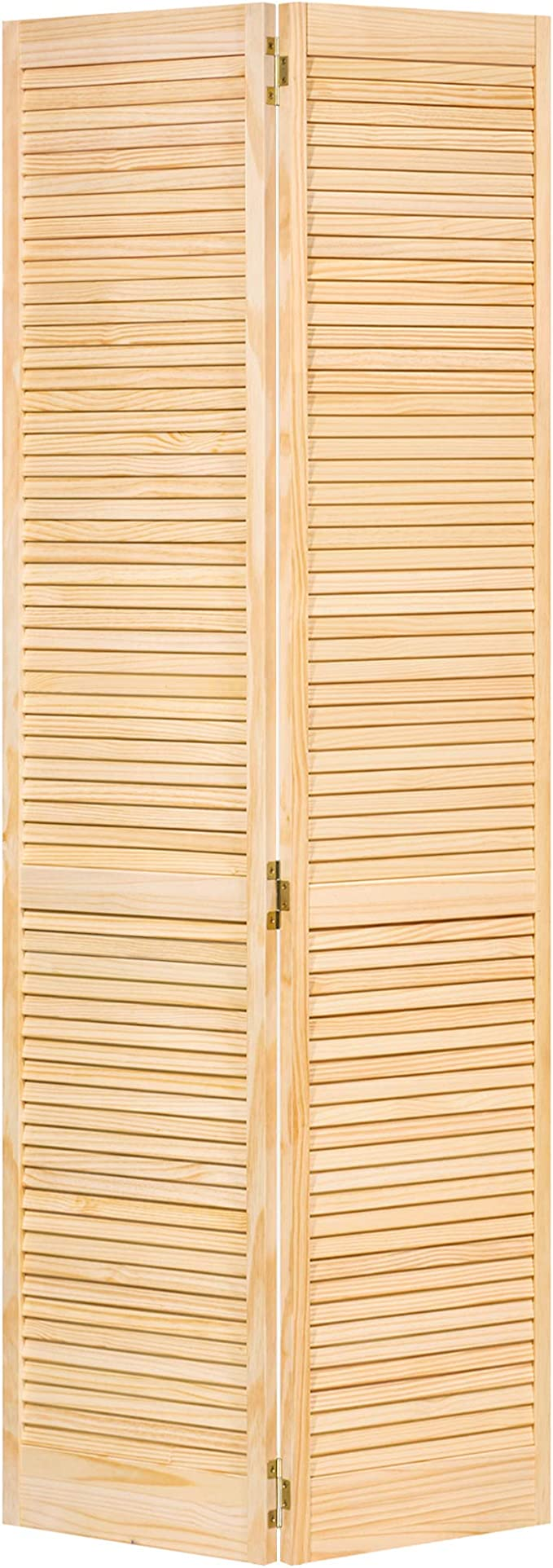 80x32 Kimberly Bay Traditional Louver-Louver White Closet Door Bi-fold