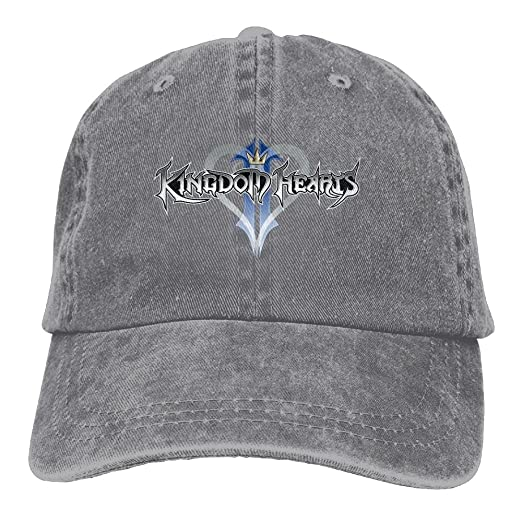 a205b3d01a1 CharmingHouse Kingdom Hearts Unisex Baseball Cap Trucker Hat Adult Cowboy  Hat Hip Hop Snapback at Amazon Men s Clothing store