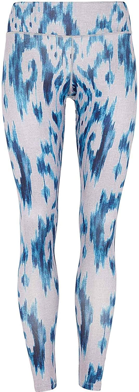 Mandala Fancy Damen Yogatights blau S