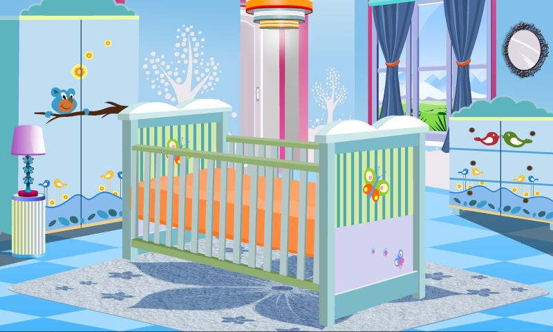 Baby girl room decoration appstore for android for Baby room decoration games for girls