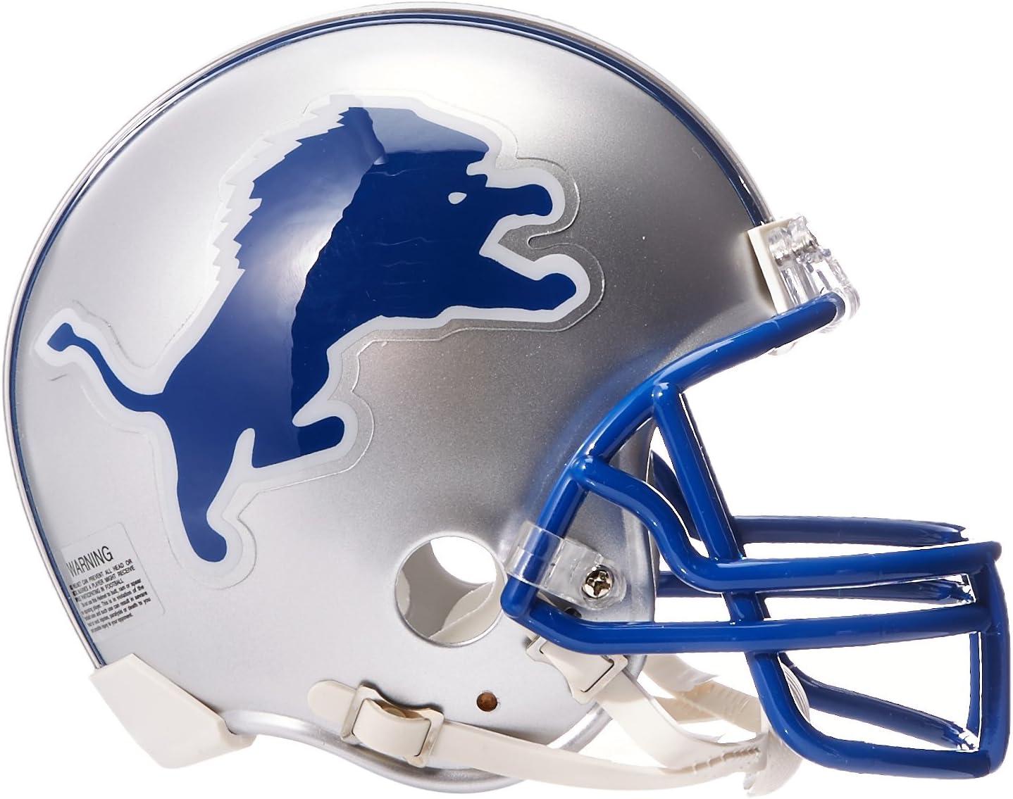Riddell Detroit Lions 1983-2002 Throwback Replica Mini Helmet w// Z2B Face Mask