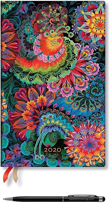 AGENDA 2020 Paperblanks 12 mesi CHIARO DI LUNA mini settimanale orizzontale cm 1