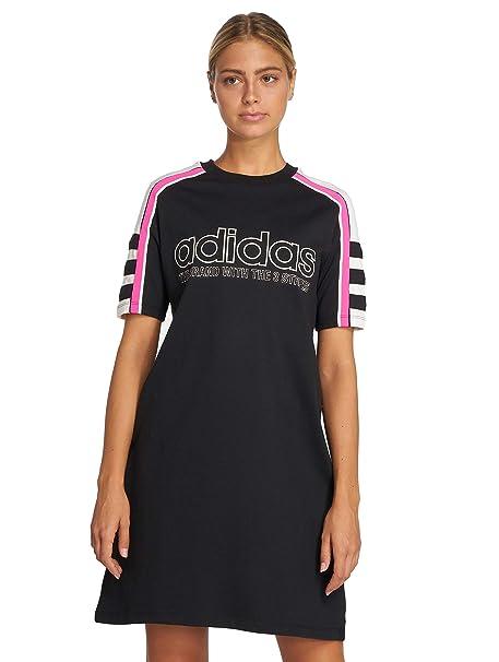 adidas DH4190 Camiseta, Mujer, Negro, 32
