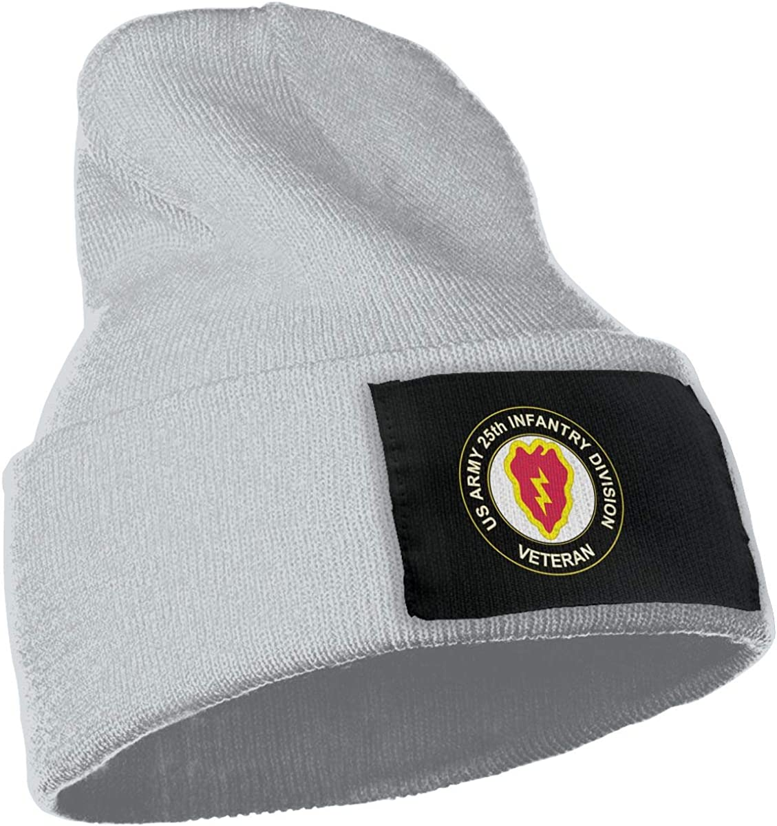 US Army Veteran 25th Infantry Division Unisex Winter Knit Hat