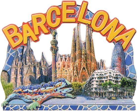 towashine 3d España Barcelona imán para nevera resina imanes para nevera Souvenir regalo: Amazon.es: Hogar