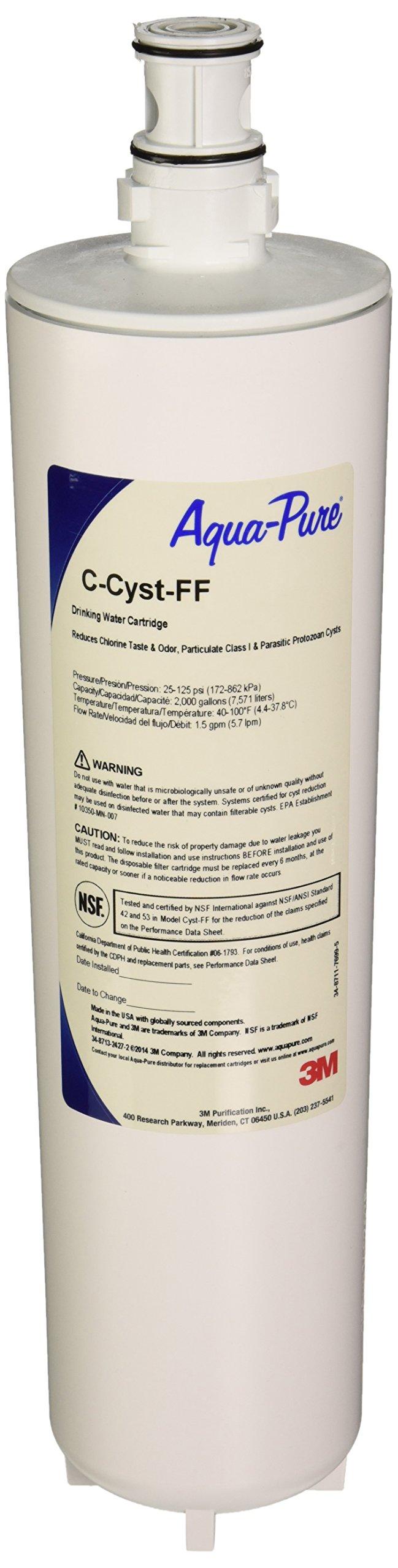 Aqua Pure C-CYST-FF Undersink Filter Replacement Cartridge
