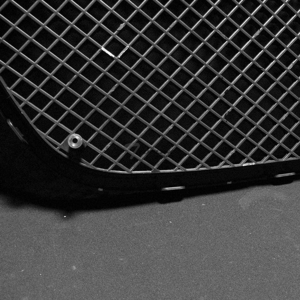 Topline Autopart Black Badgeless Mesh Front Hood Bumper Grill Grille ABS For 07-14 GMC Yukon//Yukon XL//Yukon Denali